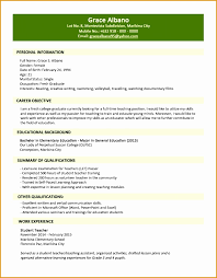 Resume Format Jobstreet All New Resume Examples Resume