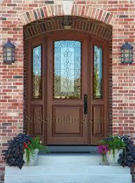 arched front doorArched Doors  Exterior Arched Top Doors  Mahogany Door
