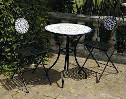 small mosaic patio table backyard patio ideas patio furniture exquisite white round outdoor patio table with