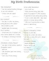 How To Make Your Birth Plan Birth Plan Blogs Pictures And More On Wordpress