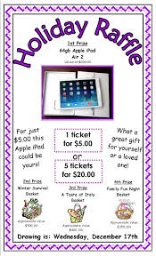 annual holiday raffle cornerspring montessori raffle poster holiday 2014 posted in news