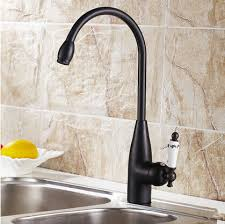 black kitchen sinks and faucets. Antique Black Bronze Kitchen Mixer Faucet Rotatable Sink BT1124R Sinks And Faucets