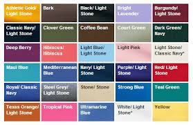 Port Authority Color Chart Port Authority Tall Short Sleeve Easy Care Shirt Tls508