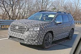2018 subaru ascent colors. perfect subaru subaruascentthreerowcrossoverspyphotos05 for 2018 subaru ascent colors