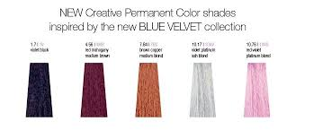 Milkshake Toner Chart Milk_shake Blue Velvet Coloring Collection Milkshake Hair