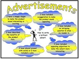 advertisements success criteria poster and mat advertisement success criteria poster