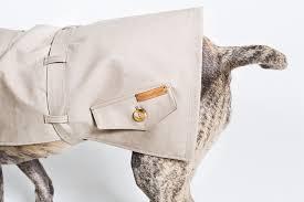 happystaffyme dog clothing trench coat dog jacket 1