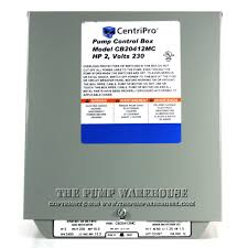 centripro magnetic contactor control box 2 hp 230v