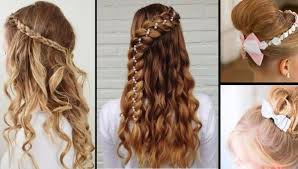 Собранные волосы в пучки, незатейливые прически на выпускной с. Samye Krasivye Pricheski Devochkam 2021 2022 Na Vypusknoj V Detskom Sadu Foto Idei