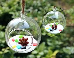 hanging glass glass sphere chandelier