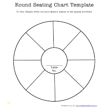 free printable wedding seating chart template best of free printable round seating chart template for
