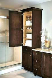 linen closet dimensions bathroom cabinet in maple umber small built how to build a built in linen cabinet