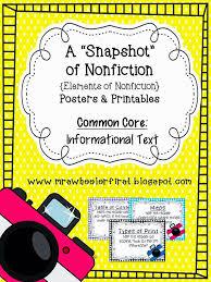 Mrs. Wheeler's First Grade Tidbits: Nonfiction Text Features