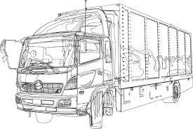 イラスト乗り物 トラックhayamaイラスト無料素材のイラスト屋