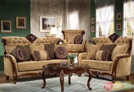 traditional leather living room furniture. Formal Antique Living Room Furniture Set With Round Coffee Table Traditional Leather Gold