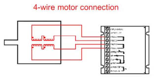"""step motor basics support geckodrive the motor turns the wrong direction when connected just swap """"phase a"""" and """"phase a"""" a typical four wire motor connection is illustrated in figure 8"""