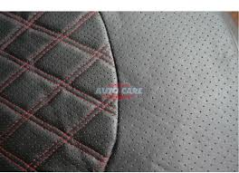 breathable pu leather material summer winter front car seat covers big mesh style black car styling seat protector