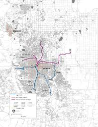 Houston Proposed Light Rail Map Which Us Cities Have Good And Bad Public Transportation Vox