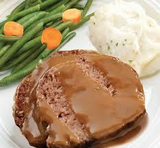 country meatloaf platter
