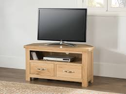 Light Wood Corner Tv Unit Eskdale Oak Corner Tv Unit