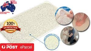 anti slip loofah shower aqua rug bathroom bath mat carpet drains anti slip