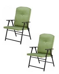 Green Folding Garden Chairs