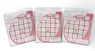 details about modern romance bridal shower party bingo 16 piece game 3 pack