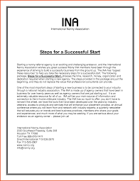 gallery of nanny cover letter sample nanny cover letters