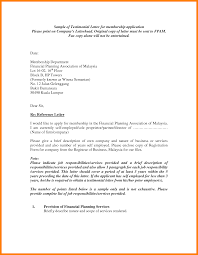 Testimonial Letter Format Accurate Concept Sample Letters Template