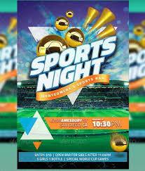 Sports Banquet Flyer Templates Nurufunicaasl Threeroses Us