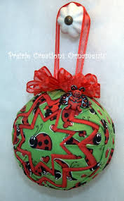 45 best Quilted Fabric Ornaments images on Pinterest | Happy ... & Lady Bug Handmade Quilted Fabric Ornament by MyPrairieCreations, $18.00 Adamdwight.com