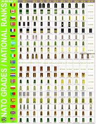 Armed Forces Insignia Chart 26 Unfolded Canadian Forces Pay Chart