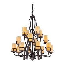 kyle 16 light chandelier in imperial bronze finish qz kyle16