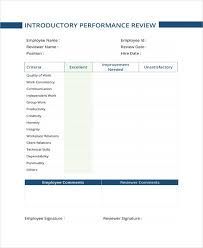 Sample Year End Performance Reviews 9 Sample Performance Review Templates Pdf Doc Free Premium
