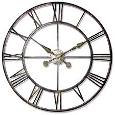 large office clocks. Round Glass Extra Large Contemporary Wall Clocks Office