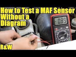 how to test a mass air flow maf sensor out a wiring diagram how to test a mass air flow maf sensor out a wiring diagram
