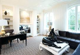 white office decors. Chic Office Design Shabby Home Decor Black And White That Leave You Spellbound Ideas Decors