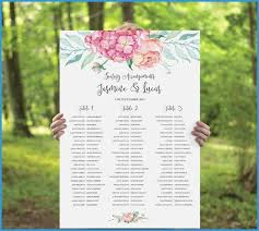 free wedding reception templates prettier wedding round table seating plan template