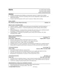 Entry-Level Finacial Analyst/Credit Analyst Resume Sample - Before
