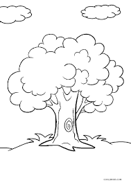 coloring pages of tree. Modren Pages Coloring Page Of Tree Inside Pages Of O
