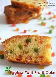 Eggless Tutti Frutti Cake Recipe Eggless Vanilla Sponge Cake
