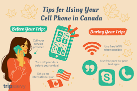 Using Your Cell Phone In Canada