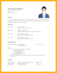 Objectives Of A Resumes Sample Job Objectives For Resumes Cocinacolibri Com