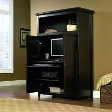 home office desk armoire. Space-saving Computer Armoire Cabinet Conceals Word Desk With Computer. Includes Multiple Slide- Home Office