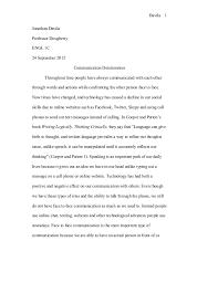 cause and effect essay on technology  causes and effects the technology in our lives essays and papers