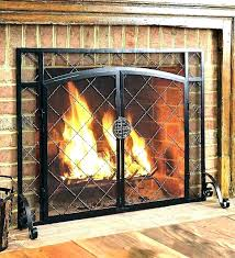 fireplace doors with blower picture fireplace blower doors open or closed