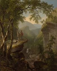 the roots of preservation emerson thoreau and the hudson river ldquokindred spirits rdquo 1849 by asher b durand courtesy of the crystal bridges