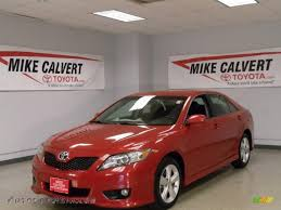 2010 Toyota Camry SE in Barcelona Red Metallic - 501308 | Autos of ...