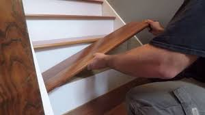 how to install prefinished retrofit stair treads from stair treads