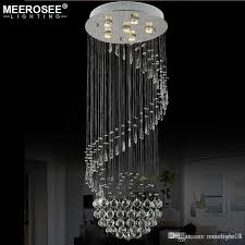 decorative crystal ceiling lamp spiral crystal light fixture res de sala for stair villa staircase lamp lighting md20018 wrought iron chandelier blown